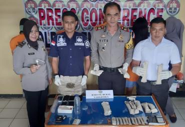Polres BU Tangkap 2 Pengedar dan 2 Pengguna Narkotika