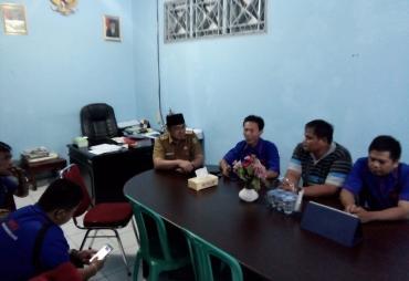 Silaturahmi, Kadis Kominfosan Kota Bengkulu Apresiasi AMBO
