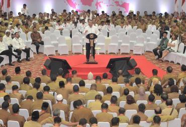 Rakornas Penyelenggaraan Pemerintahan Desa, Menteri Eko…