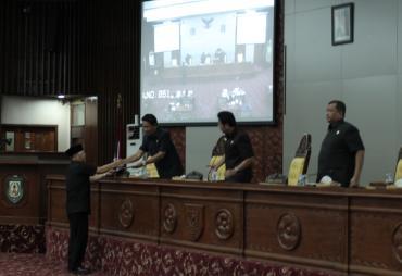 Paripurna, Gubernur Bengkulu Sampaikan Nota Penjelasan BUMD…