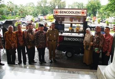 Gubernur Bengkulu Perjuangkan Bencoolen Coffe  Dikenal…