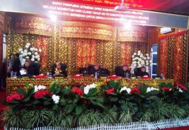 Rapat Paripurna HUT Bengkulu Selatan Ke- 70