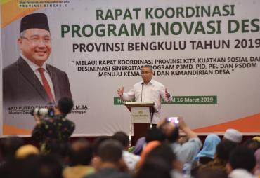 Tingkatkan Ekonomi Dengan Potensi Desa, Kemendes PDTT…