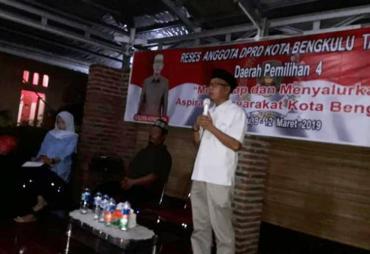 Reses Dewan Kota, Solihin Adnan Serap Aspirasi Masyarakat…