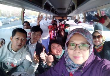 Peserta Studi Banding Kemendes PDTT Tiba di China