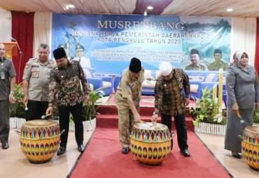 Musrenbang RKPD 2020, Walikota Targetkan Kota Bengkulu…