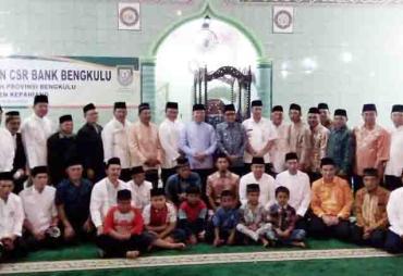 Bank Bengkulu Salurkan CSR Ke Masjid dan Panti Asuhan di…