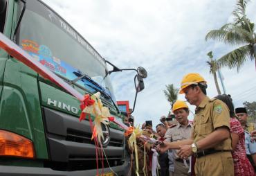Bengkulu Ekspor 25 Kontainer Kayu Olahan ke China