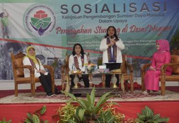 OASE KK Bidang II Sosialisasikan Pencegahan Stunting di…