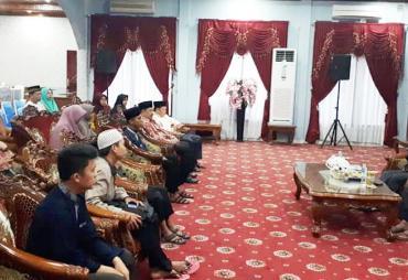 Silaturahmi, Walikota  Helmi Hasan Apresiasi Juara STQH…