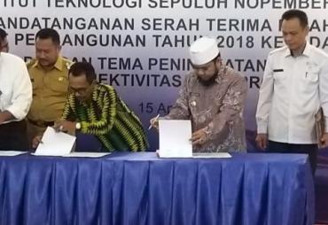 Kota Bengkulu Terima Hibah Kapal Dari Kementerian…