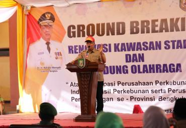 Ground Breaking, Renovasi Stadion dan GOR Sawah Lebar…