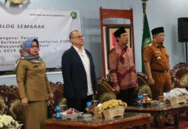 Kota Bengkulu terima 200 Unit PJU dari Kementrian ESDM