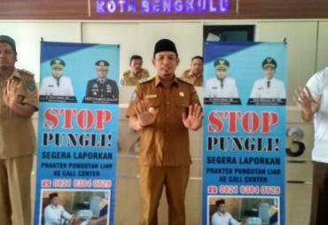 Wawalikota Bengkulu Minta Pelayanan Publik Tanpa Pungli