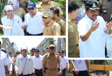 Bupati Mian Bersama Menteri BUMN Kunjungi Jembatan TAP…