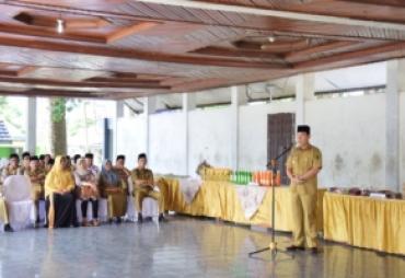 Bupati Hijazi Buka Operasi Pasar Murah Ramadhan 1440 H