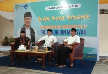 Diskominfotik Provinsi Bengkulu Buka Bersama Insan Media