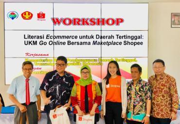 Gerakkan UMKM Daerah Tertinggal, Gelar Workshop Literasi E-…