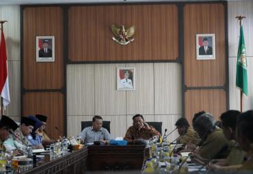 Sinergitas Pembangunan Di Bengkulu Utara, Bupati Mian…