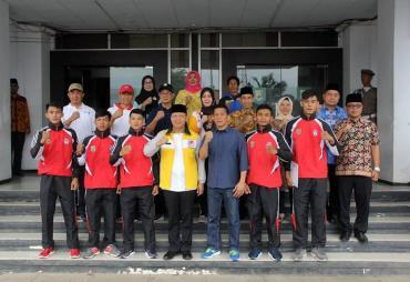 4 Atlet Tarung Bebas Bengkulu Berangkat ke Bahrain