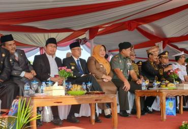 Bupati BS Gusnan Mulyadi Hadiri HUT Benteng ke-11