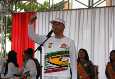HUT Bhayangkara Ke-73, Gubernur Imbau Masyarakat Terus Jaga…