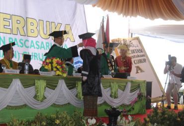 Sebanyak 507 Mahasiswa Diwisuda Perdana IAIN Curup