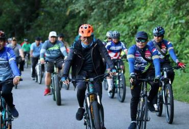 Bupati BS Ajak Masyarakat Ramaikan Gowes Nusantara