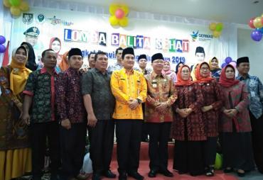 Dinkes Provinsi Bengkulu Gelar Lomba Balita Sehat 2019