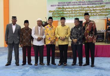 Gubernur Hadiri Halal Bilahal dan Silaturahmi Keluarga…