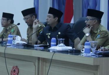 Wawali Tanyakan Progres Pengajuan Dana Kelurahan