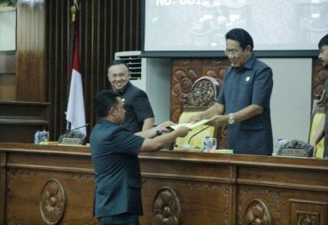 Banggar DPRD Provinsi Bengkulu Setujui Raperda…