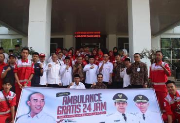 PMI Rejang Lebong, Berikan Pelayanan Mobil Ambulance Gratis…