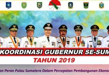 Rakor Gubernur se-Sumatera, Rohidin: Kita Akan Angkat Isu…