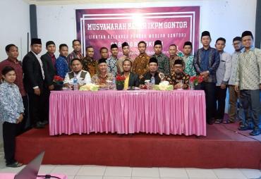 Wawali Ajak IKPM Gontor Sukseskan Bengkulu Religius