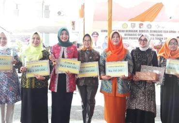 PKK Kota Bengkulu Juara 2 B2SA Tingkat Provinsi