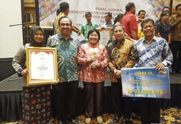 Seluma Raih Juara 3 Lomba Perpustakaan Desa Tingkat Nasional