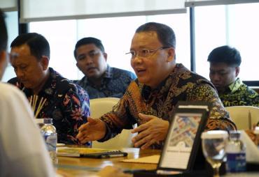 Bahas KEK bersama Pelindo II, Rohidin Optimis Segera…