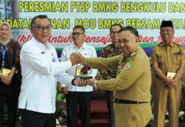 Pemprov Bengkulu Apresiasi Pelayanan Informasi BMKG