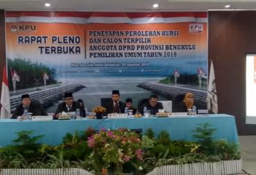 Anggota DPRD Provinsi Terpilih Periode 2019 - 2024 Resmi…
