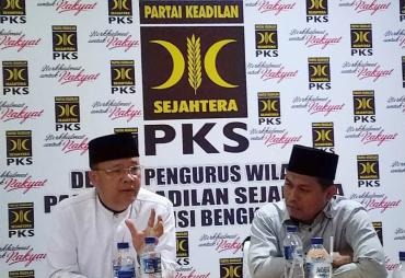 Rohidin Silaturahmi Ke DPW PKS