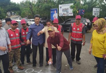Gerilya Membangun,  Gubernur Rohidin Resmikan Pembangunan…