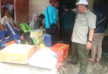 Peduli Sesama,  Gubernur Rohidin Berikan Bantuan Korban…