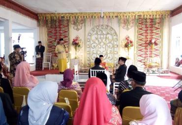 Gubernur Hadiri Pernikahan Putri Sekda Kaur,  Momentum…