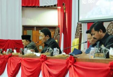 Raperda APBD-P TA 2019 Dilanjutkan Pembahasannya