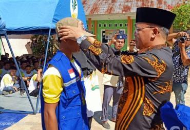 500 Lebih Forum Anggota Tagana Dikukuhkan Gubernur Bengkulu