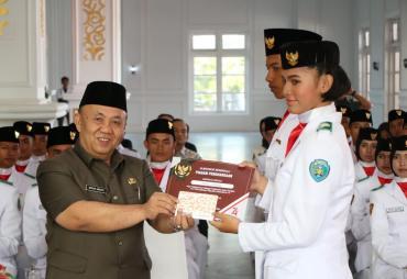 Paskibraka 2019 Provinsi Bengkulu Resmi Dibubarkan