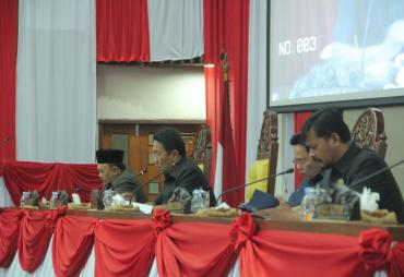DPRD Provinsi Bengkulu Setujui Raperda APBD-P 2019 Dibahas…