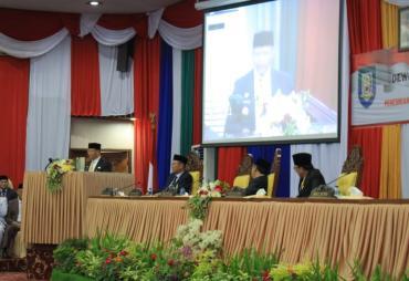 Pengambilan Sumpah Jabatan 45 Anggota DPRD Provinsi Bengkulu