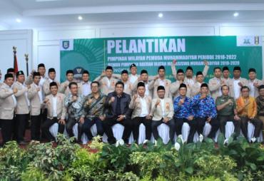 Pemuda Muhammadiyah dan IMM Bengkulu Resmi Dilantik